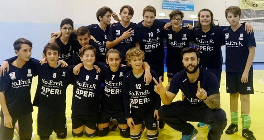 Celanese Volley Forlì: il settore giovanile suona la carica per la serie B