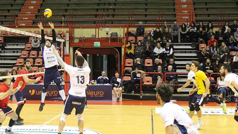 Arriva prima sconfitta in casa per la Celanese Volley Forlì