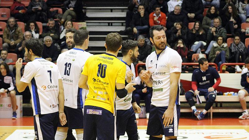 Forlì si arrende al tie break e manca l'aggancio a Portomaggiore