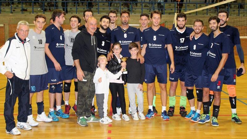 Celanese Volley Forlì festeggia il nuovo nome con il primo trofeo stagionale