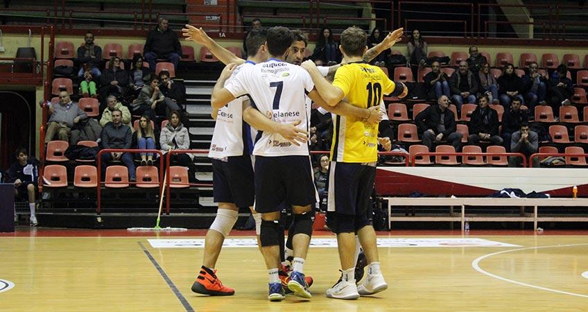 Forlì rimonta Perugia per tre volte e si impone 3 a 0