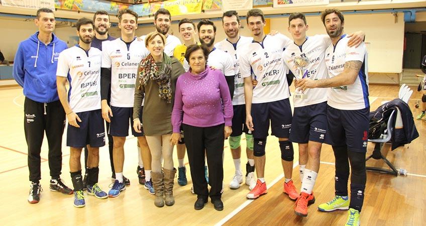 Ultimo trofeo dell'anno: la Celanese vince il Memorial Casadei a San Marino