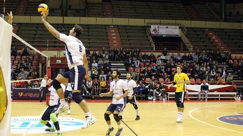 Forlì si impone 3 a 0 ad Ancona con un Sirri da 30 punti
