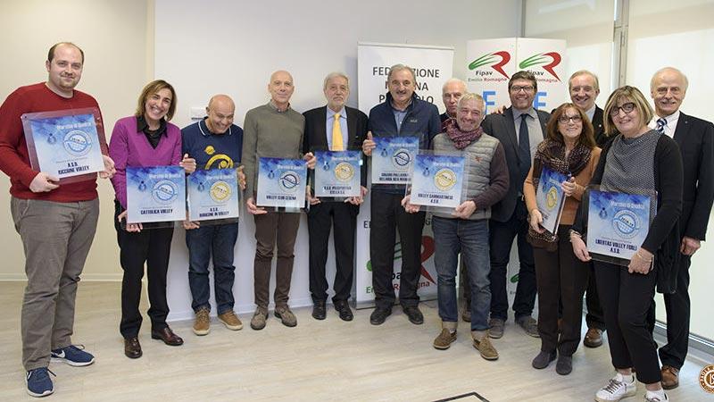 Marchio di Qualità per la pallavolo giovanile: premiata anche la Celanese Forlì