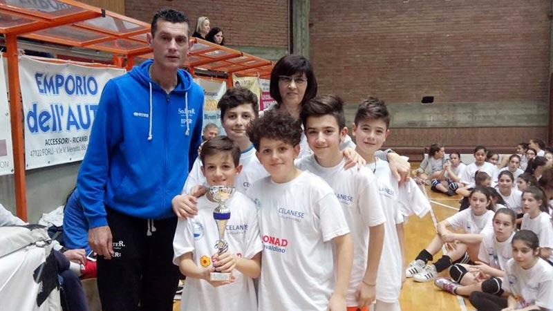 La 1^ D della Zangheri vince il Torneo Interscolastico